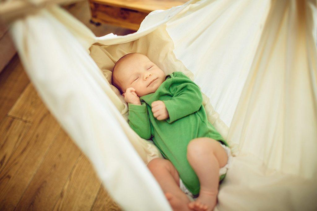 Baby Hängematte mit Baby